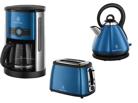 Pisau Set Russel Hobbs hobbs sky blue cottage set kaffeemaschine toaster