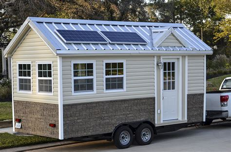 homes on wheels the americana tiny house on wheels 208 sq ft 8 x 19