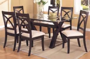 Glass Dining Room Table Sets by Rustic Glass Dining Room Table Sets Dining Room Tables