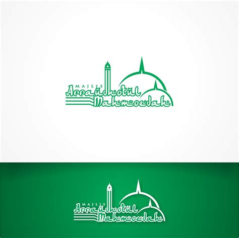contoh logo majlis talim jasa desain grafis
