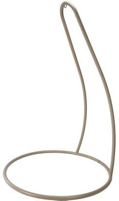 single swing chair with stand taupe hammock chair stand and chairs on pinterest