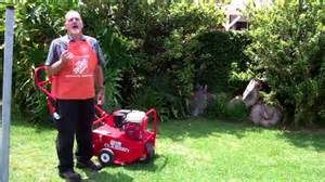 home depot rent aerator how to aerate your lawn the home depot