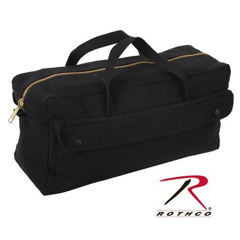 Canvas Zipper Tool Bag | rothco canvas jumbo tool bag brass zipper