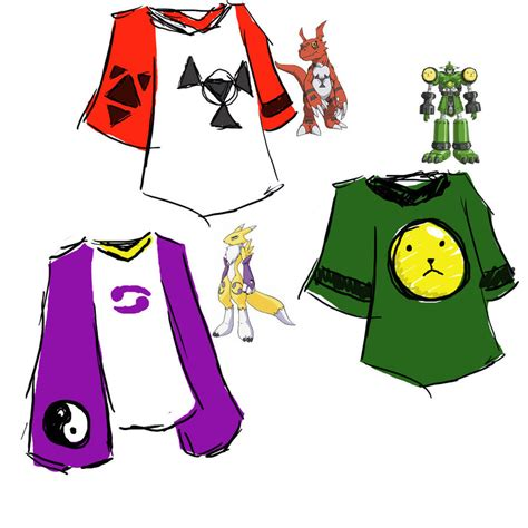 Digimon 3 T Shirt digimon tamers shirts by cretanzia on deviantart