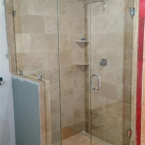 Frameless Shower Doors Custom Glass Shower Doors Atlanta Ga How To Install A Frameless Shower Door