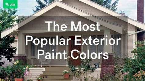 Door Awnings For Mobile Homes The Most Popular Exterior Paint Colors Huffpost