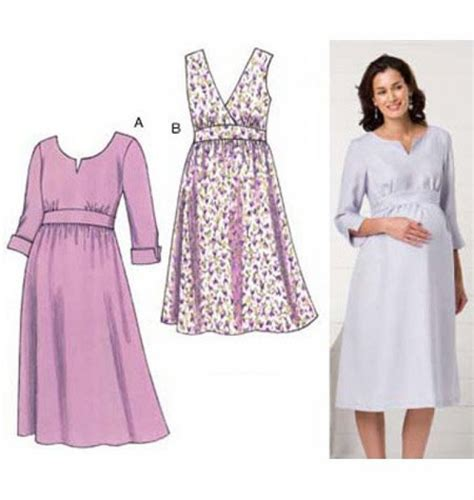 clothes pattern store kwik sew 3486 maternity dresses