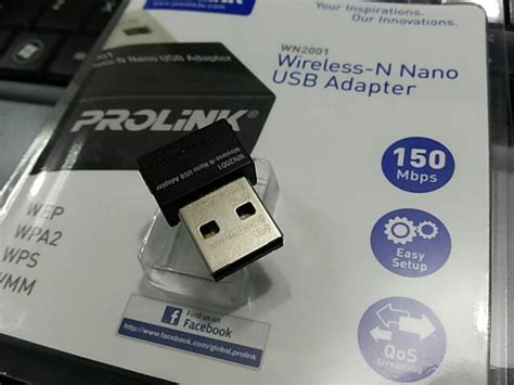 Usb Wifi Prolink Wn 2001 jual prolink wn2001 wireless n nano usb adapter huzky computama
