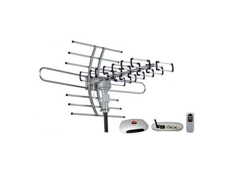 esky hg 981 waterproof multi directional remote outdoor hdtv antenna uhf vhf 360
