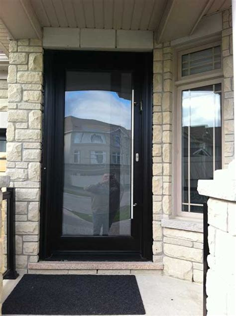 Modern Glass Exterior Doors Modern Contemporary Frosted Glass Front Fiberglass Door