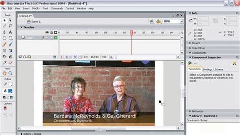 tutorial flash mx 2004 flash mx 2004 audio video integration