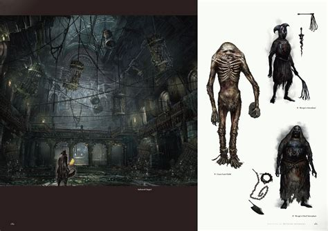 english preview images revealed for bloodborne official artworks game idealist
