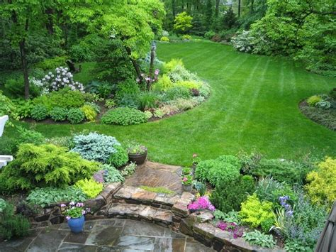 landscape design ideas for large backyards beautiful large yard landscaping design ideas 43