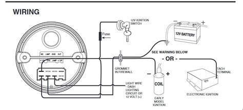 auto meter tach to msd 6al box wiring wiring diagrams