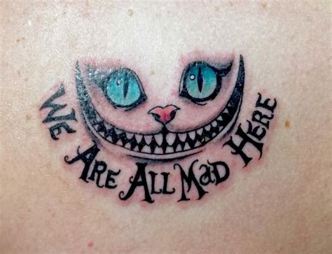 we re all mad here tattoo were all mad here www imgkid the image kid