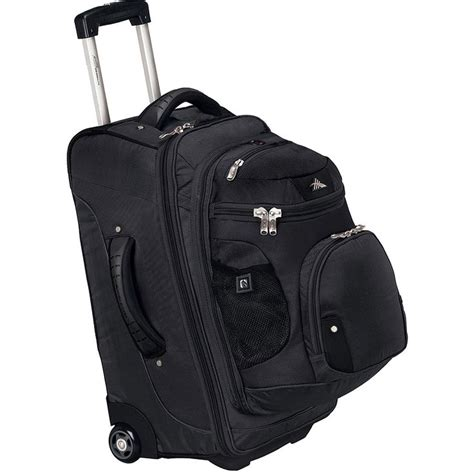 rolling luggage  detachable backpack images