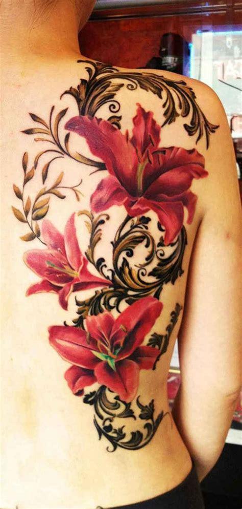 flower vine tattoo sleeve 130 most beautiful sexy tattoos for women