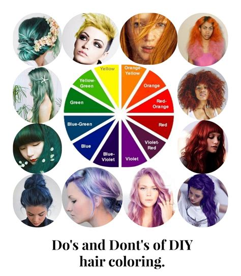 how to hair do s and dont s of diy hair coloring