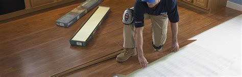 Laminate Wood Flooring Installation Laminate Flooring Install At Lowe S