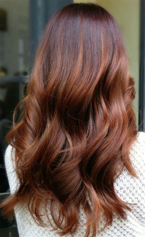 copper brown hair color the 25 best copper balayage ideas on copper