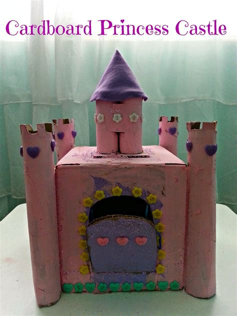 How To Make Paper Castle - if these cheerios could talk cardboard princess castle