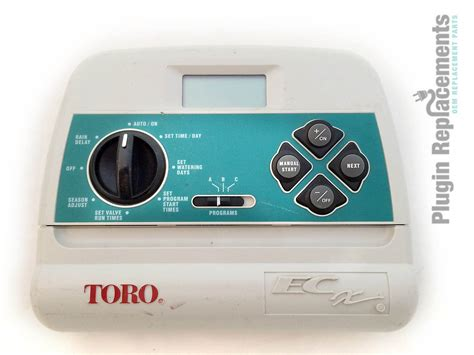 Toro Model Ecx 8 Zone Sprinkler Irrigation Timer Panel