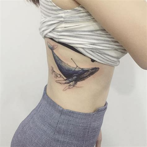 humpback whale tattoo designs whale by tattooist flower inkspiration