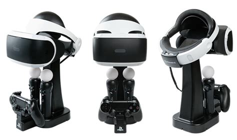 Ps4 Motion Vr With Stand Kaset Rabbids powera psvr charge and display stand review