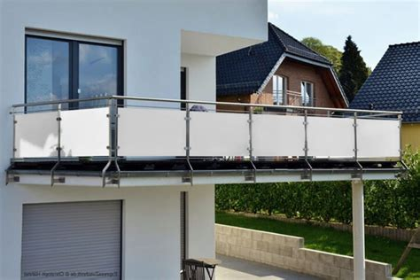 Windschutz Balkon Transparent 524 by Windschutz Balkon Transparent Windschutz Balkon
