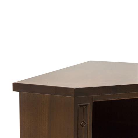 mobili color noce mobile ad angolo porta tv in legno color noce a due ante