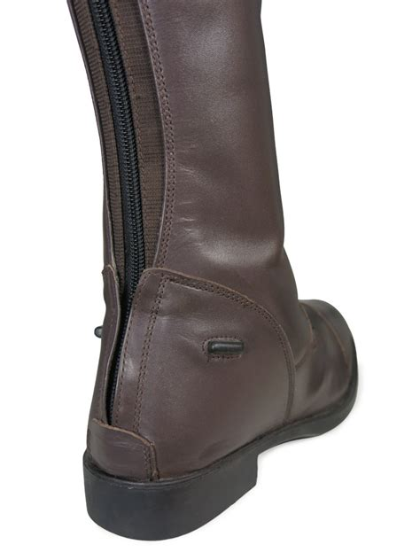 mens black leather riding boots ladies mens black brown horse riding show jumping leather