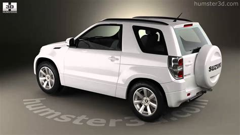Suzuki 3 Door Suzuki Grand Vitara 3 Door 2012 3d Model By Humster3d
