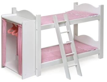 Doll Bunk Beds With Ladder And Storage Armoire by Updated List Coupon 20 Select