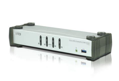 Stok Terbatas Aten 1 Console Usb 4 Pcs Usb With Audio Built In aten cs1914 4 port usb 3 1 1 displayport 1 1 kvm