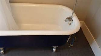 restore old bathtub how to restore a claw foot tub youtube