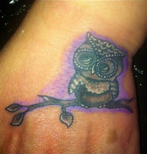 small owl tattoo pretty tats pinterest