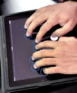 Software For The Blind sohan dharmaraja turning touchscreens into braille type writers smriti daniel