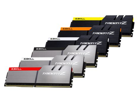new ddr4 ram g skill s new trident z ddr4 ram hits frequencies of 4266mhz
