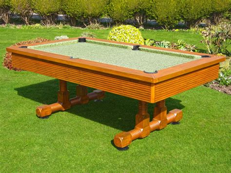 backyard pool table evergreen classic outdoor pool table 6 ft 7 ft 8 ft
