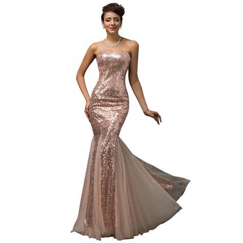purple sequins floor length trumpet mermaid prom