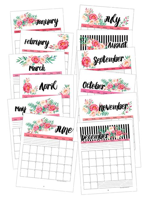 Blooming Homestead 2017 Calendar 2018 calendar blooming homestead