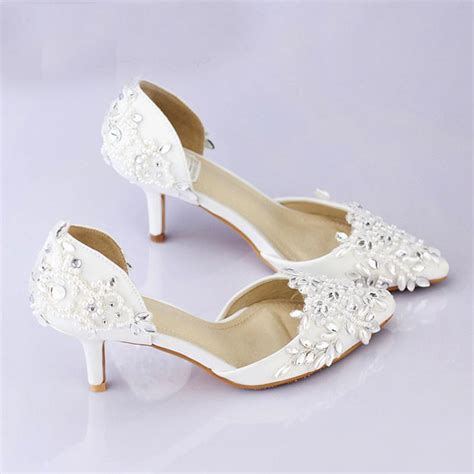cheap comfortable wedding shoes cheap pointed toe wedding shoe comfortable middle heel