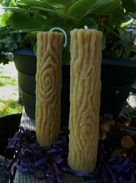Sumbu Lilin Diy Candle faux bois wood tree branch silicone candle mold original sculpted design beeswax pillar molds