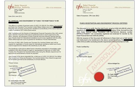 Offer Letter Sle Uae Beware 2 Million Dubai Lottery Scam Alert Issued Emirates 24 7