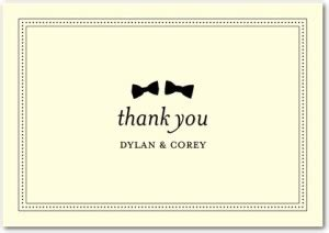 Wedding Paper Divas Thank You Cards by How To Not At Writing Thank You Notes Inc