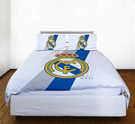 Bedroom Comforters And Accessories Real Madrid Bedding And Bedroom Accessories Football Boys