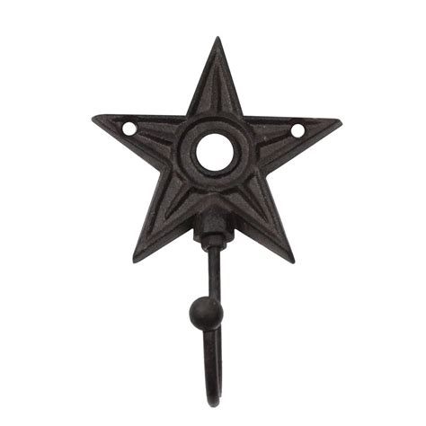 3 pc rustic metal barn star set wall art home decor new rustic metal barn star wall mount hook treasuregurus