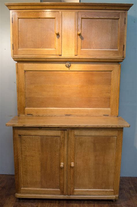 Antique Oak Kitchen Cabinet by 1920s Quicksey Solid Oak Kitchen Cabinet Furniture Etc