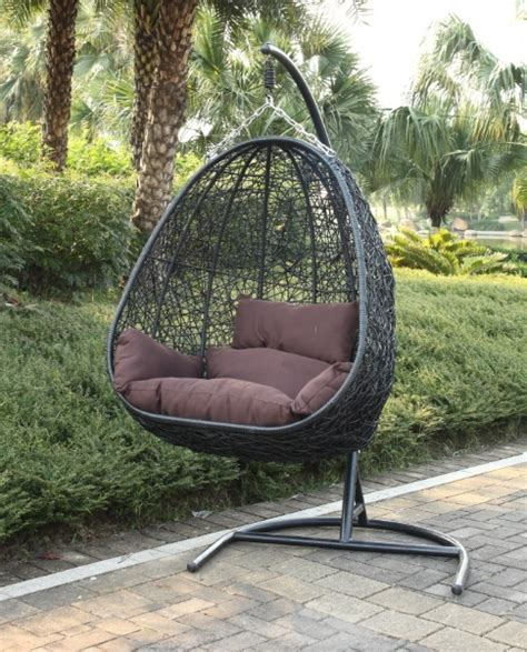 bird nest swing double seater bird s nest porch swing with stand md14f28