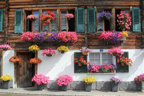 house with flowers bike switzerland challenge tour day 5 bicycle touring pro